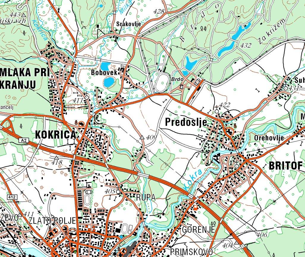 Mapa Hrvatske I Slovenije Servchicago S Diary